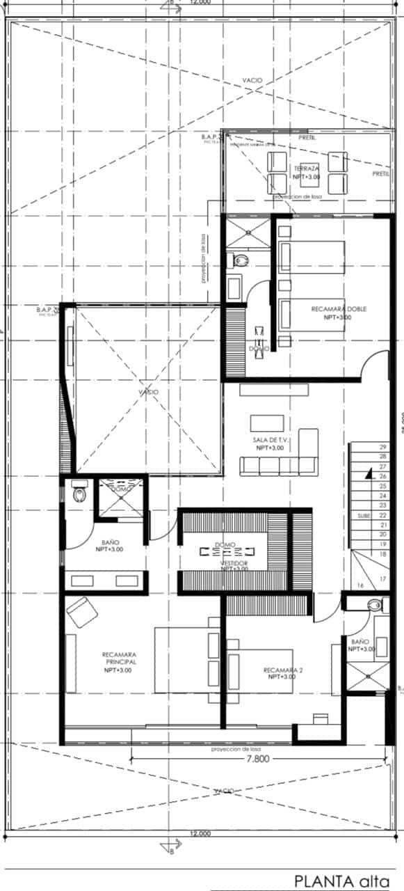 Propiedad en Zibatá. JF Arquitectos. Planos.